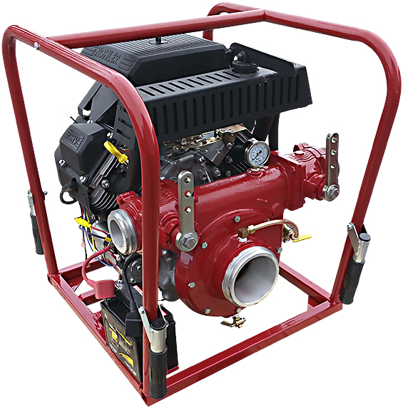 CET Fire Pumps High Pressure Pump - PFP-30HPKHL-2D | Absolute Water