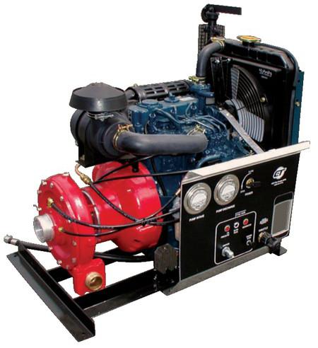 CET High Pressure Fire Pump - SM-PFP-21HP-DSL-MR   Absolute