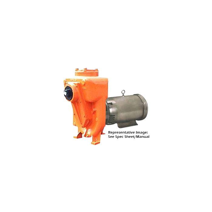 CI Self-Priming 5 HP Centrifugal Pump