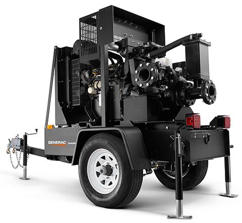 Magnum By Generac Mobile Dry-Prime Diesel Trash Pump