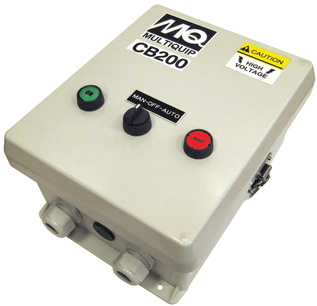 Multiquip Submersible Pump Control Box Cb200 3 460 Absolute Fire Engine Panel Diagram Water Pumps