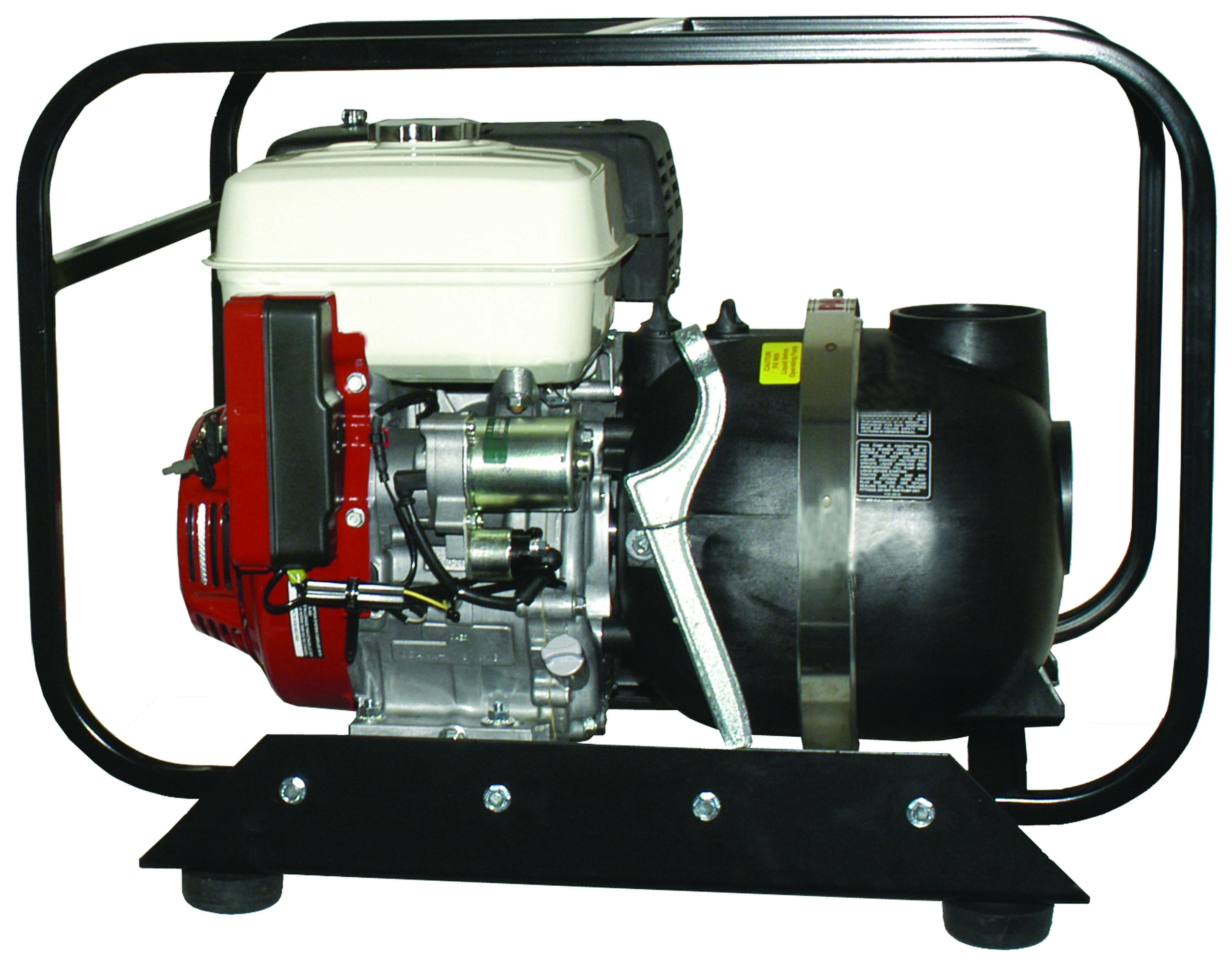 Pacer Self-Priming Solids Handling Centrifugal Gasoline, Water Pump