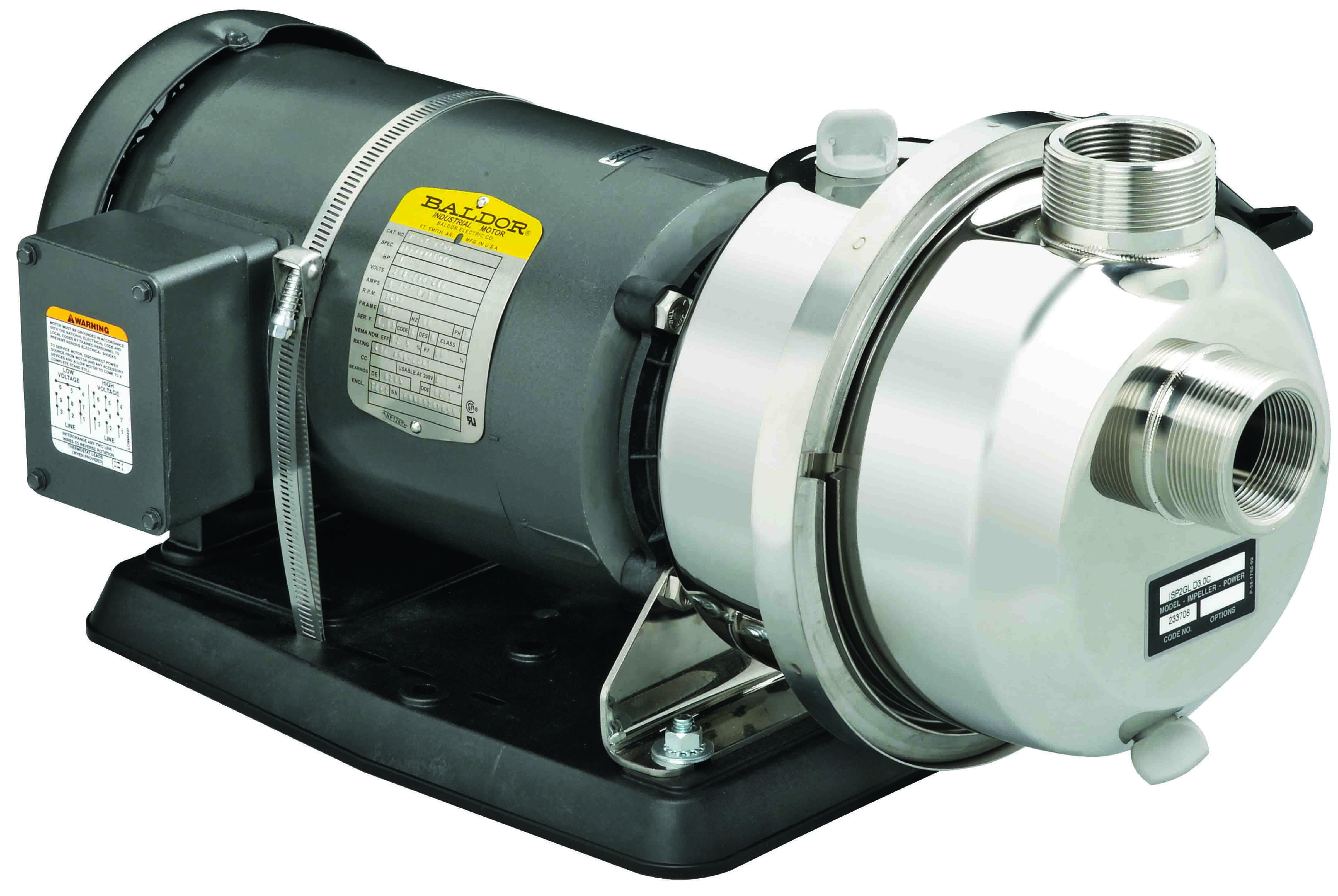 Pacer Potable Water Centrifugal, Self-Priming Pump - IPW2WL
