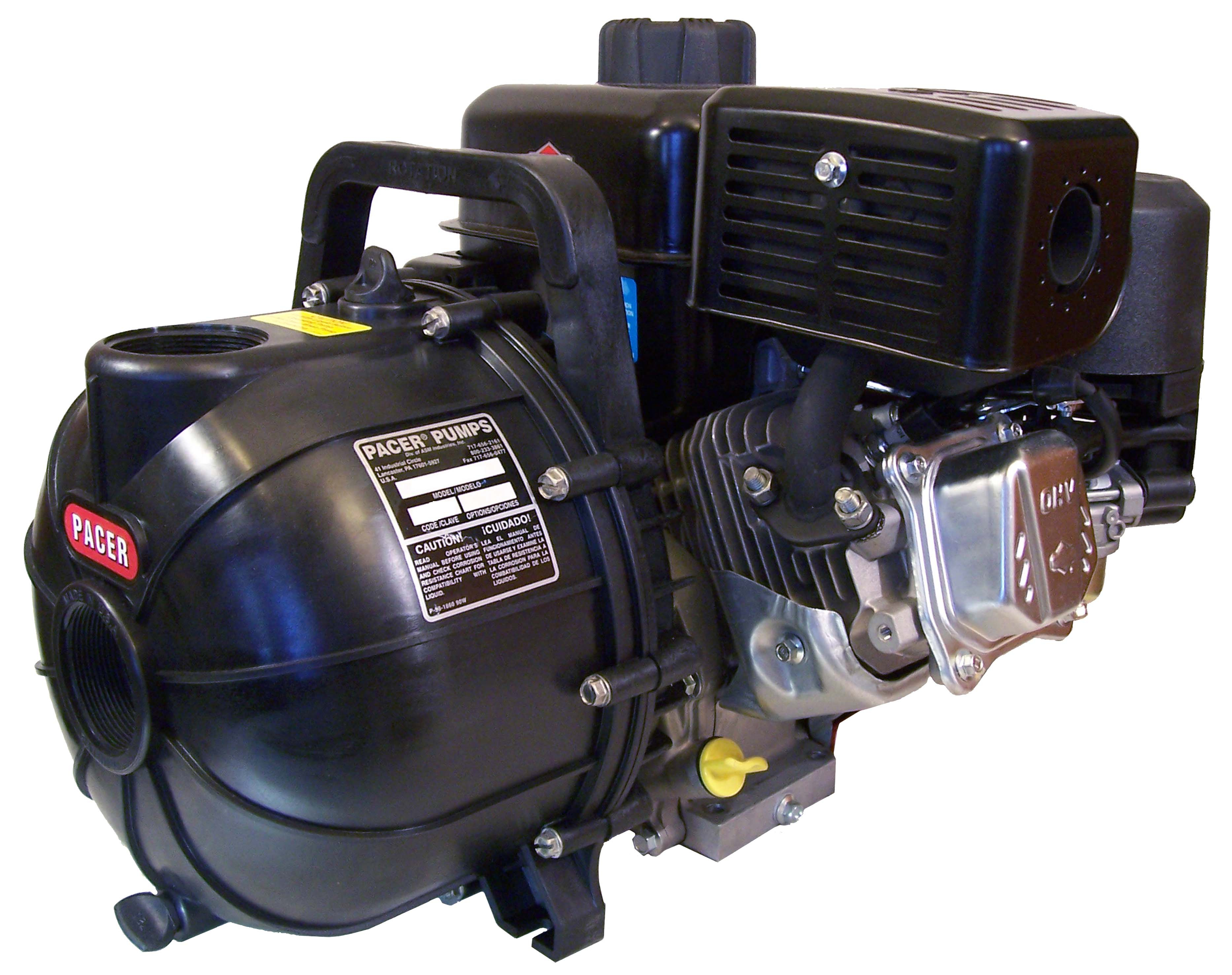 Pacer Self Priming Centrifugal Gasoline Briggs Stratton Water Diagram And Ohv Engine Parts Diagrams Pump Se2ul E950 2 200 Gpm Female Npt