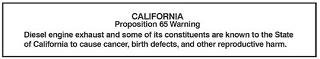 Cummins California Proposition 65