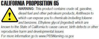 Winco California Proposition 65